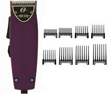 Oster Professional Purple Fast Feed Professional Clipper With Free 8-pc comb New