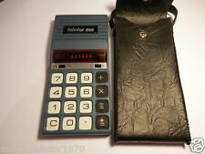 RARE VINTAGE Tabulex 666 CALCULATOR RED LED