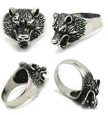 Jon Snow Ghost Wolf GAME OF THRONES House STARK style RING 8 9 10 11 12 13 sizes