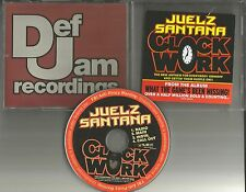 JUELZ SANTANA Clockwork w/ RADIO TRK & INSTRUMENTAL PROMO DJ CD single 2006 USA