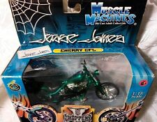 "New West Coast Choppers Jesse James ""Cherry CFL"" Bike 1:18 Scale Green"
