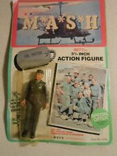 Vintage 1982 M*A*S*H 4077th Action figure Col. Potter.