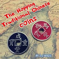 HOPPING TRADITIONAL CHINESE COINS COIN MAGIC TRICK Online Instructions+ Gimmicks