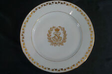 Second Empire Sevres Art Nouveau Gold Gilt Napoleon N Cabinet Plate Circa 1857