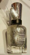 NEW! Sally Hansen Complete Salon Manicure nail polish HI HO SILVER