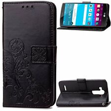 Magnetic Flip stand Card Leather wallet + TPU Case Cover For LG MOTO Series