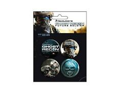 Ghost recon future soldier Blister de 4 Badges Officiels Neuf Ghost recon