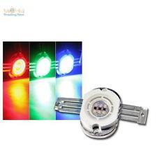 Highpower LED Chip 10W RGB,REDONDO,350mA cada rojo verde azul Alto rendimiento
