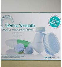 Derma Smooth Skin Face cleansing brush Facial And Body Exfoliation System NEW