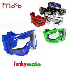 MOTO X1 MX MOTORRADBRILLE ERWACHSENE MOTOCROSS BMX QUAD SKI MOTORRAD BRILLE BLAU