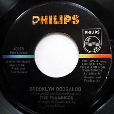FLAMINGOS 45 Brooklyn Boogaloo / Since My Baby Put Me Down NORTHERN SOUL e8138