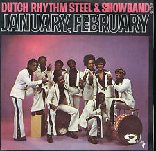 "45T 7"": Dutch Rhythm Steel & Showband: january, february. barclay. A7"