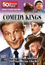 COMEDY KINGS 50 MOVIE PACK DVD New Sealed