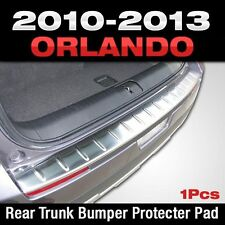 Metal Rear Trunk Bumper Pad Moulding Garnish For Chevy Holden 2010-2016 Orlando