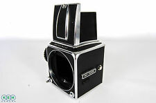 Hasselblad 500c Chrome Medium Format Camera Body With Waist Level