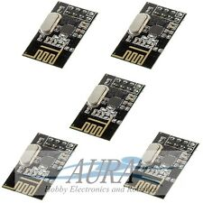 5 X NRF24L01+ Transceiver 2.4Ghz Arduino RF PIC ARM Hobby Model Wireless UK A405