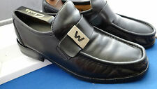 PATRICK COX CLASSIC RETRO DESIGNER BLACK LOAFER SHOES UK 8 EU 42 US 9