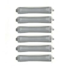 12 x EXTRA LARGE GREY PERM  CURLERS/ ROLLERS RODS