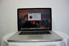 "Apple MacBook Pro 15.4"" A1286 Core i5 2.4GHZ 4GB 320GB Batería Nueva Sierra del so"