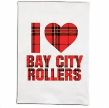 BAY CITY ROLLERS 'I LOVE....' TEA TOWEL BRAND NEW
