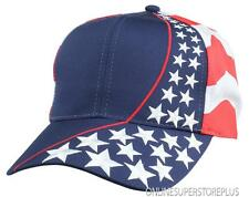 Mens New Blank Hat USA POWER Flag Cap with 6 Panels American Patriotic Caps