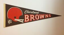 Old Cleveland Browns Full Size Pennant 2 Bar Nfl Football