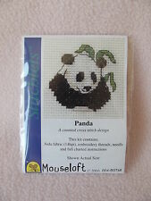 MOUSELOFT STITCHLETS CROSS STITCH KIT ~ PANDA ~ NEW