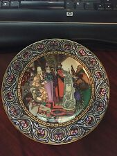 HEINRICH VILLEROY & BOCH Russian Fairy Tales Wall Plate THE SNOW MAIDEN limited
