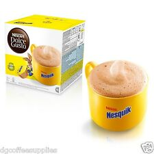 Dolce Gusto Nesquik Coffee Pods 16 a box 16 servings cheap fast deliver UK stock