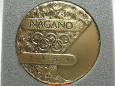 1998 Nagano Winter Olympic Games Participation Medal Authentic!