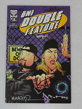 JAY AND SILENT BOB ONI PRESS DOUBLE FEATURE #1 SIGNED KEVIN SMITH JASON MEWES