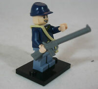 ACW Lego CIVIL WAR Military Figure UNION INFANTRY Federal US ARMY Rifle SOLDIER