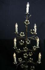 Candélabre en bronze ciselé, base gothique/ Chandelier-candelabra bronze