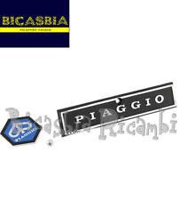 1585 TARGHETTA E SCUDETTO COPRISTERZO VESPA PX 125 150 200 *