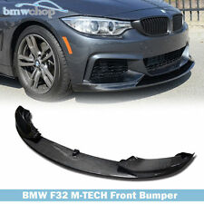 CARBON FIBER BMW F32 M-TECH M-SPORT PERFORMANCE TYPE FRONT LIP SPOILER