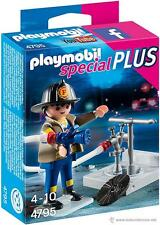 Playmobil 4795 Bombero con boca de incendios City Action Specials