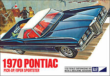 MPC 1970 Pontiac Pickup / Open Sportster 2 in 1 model kit 1/25
