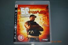 sangre de 50 Cent en la arena de la PS3 Playstation 3