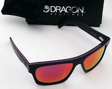 Dragon Viceroy Sunglasses-Matte Black-Plasma Frame/Plasma Ion Lens-NeW