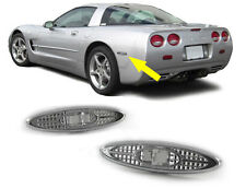 CLEAR SIDE REPEATERS INDICATORS POSITION LIGHTS CORVETTE C5 1997-2004 FOR