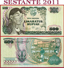 (com) INDONESIA  -  500 RUPIAH 1968 - GENERAL SUDIRMAN  - P 109 -  XF