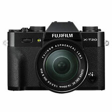 Fuji X-T20 with XC 16-50mm Mark II Lens in Black BNIB UK Stock
