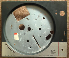 GOLDRING LENCO L75 VINTAGE SWISS TURNTABLE TOP PLATE CHASSIS