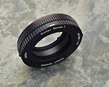 Rare Rotating Vivitar Series 1 450mm f/4.5 T-Mount Canon C/FD Adapter (#1949)