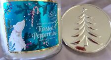 Bath & Body Works 3 Wick Scented Candle TWISTED PEPPERMINT NWT