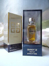 GIVENCHY III PARFUM 7ml DAB BOTTLE VINTAGE 1980s NEW MINT SEALED CASE MARKED BOX