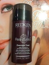 Redken Real Control Overnight Treat Recovery For Dense Dry Sensitized Hair 3.4oz