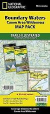 National Geographic Trails Illustrated Map: Boundary Waters Canoe Area...