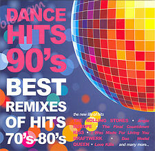 DANCE HITS 90's BEST REMIXES OF HITS 70'S - 80'S 2 CD SET IN DIGIPAK New Sealed