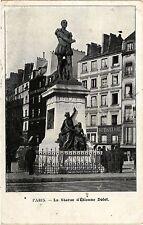CPA Paris 5e-La Statue d'Etienne Dolet (323847)